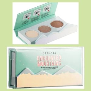 3/$15⛰️ Sephora Enchanted Mountains Palette NIB